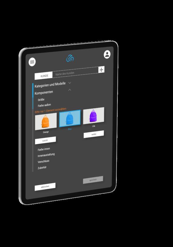 Toplogogix Software Tabletscreen